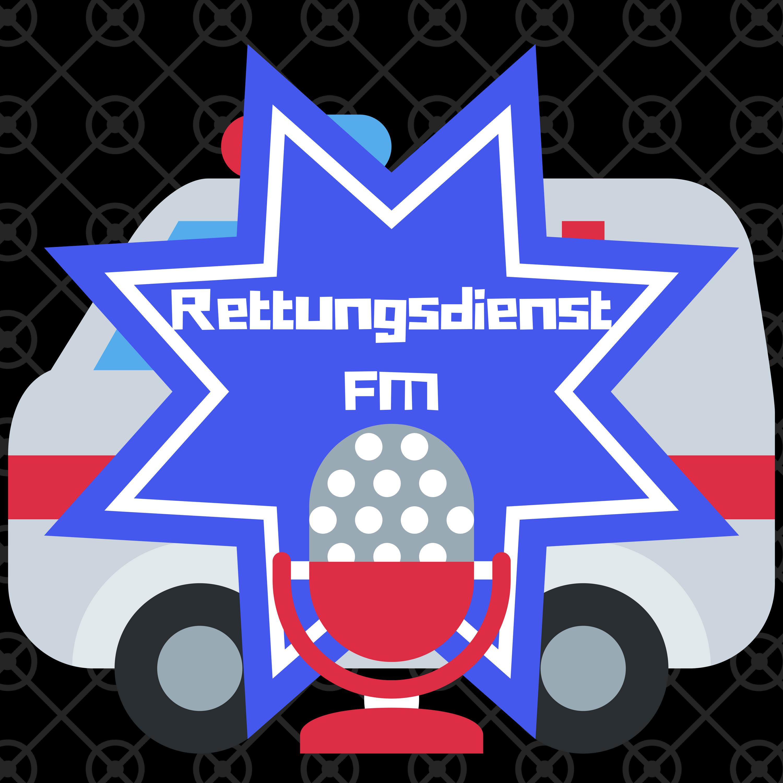 Podcast Logo Rettungsdienst FM